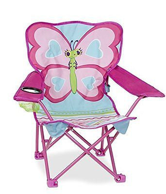 Melissa & Doug Sunny Patch Cutie Pie Butterfly Camp Chair