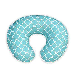 Boppy Pillow Slipcover Classic Plus Trellis Turquoise/Blue