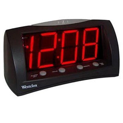 WESTCLOX Extra Large Display AlarmClock / 66705A /
