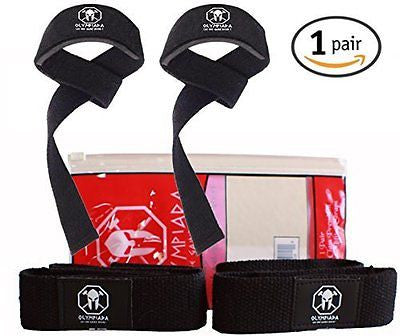 Olympiada Weight Lifting Straps - For Strength Training Bodybuilding