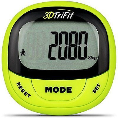 3DTriFit 3D Pedometer Activity Tracker | Best Pedometer for Walking