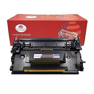 Toner Kingdom Compatible with HP CF226X 26X Black Toner Cartridge for Use in HP