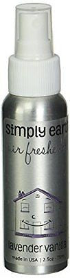2.5oz Lavender Vanilla Air Freshener by Simply Earth