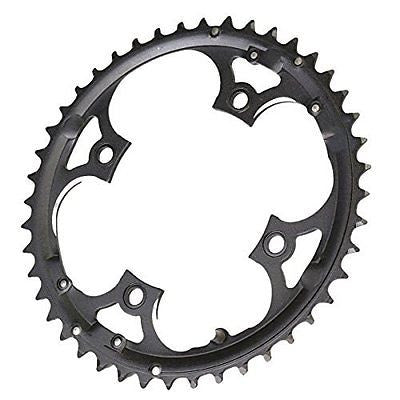 OUTERDO 44T Bike Chainring for Shimano 9 Speed Crank CrankSet