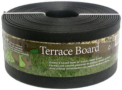 Master Mark Plastics 95440 Terrace Board Landscape Edging Coil  5 Inch