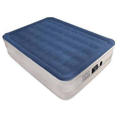 Air Mattress with ComfortCoil Technology & Internal High Capacity Pump