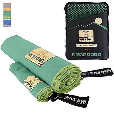 SPECIAL PRICING! Microfiber Camping Sports Towel