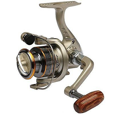 Hengjia FR030 Light Weight Left/right 5.1:1 Gear Ratio Metal Spinning Fishing