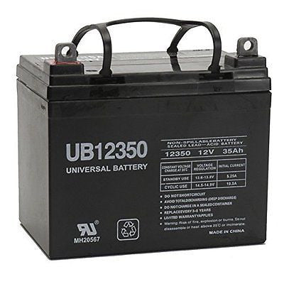 12V 35Ah Battery For John Deere Lawn & Garden Tractor Riding Mower SLA