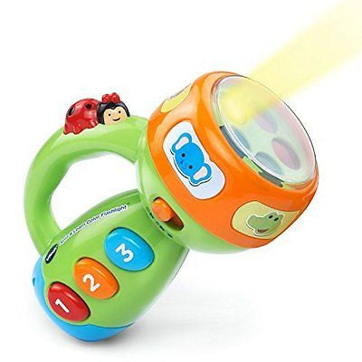 VTech Spin and Learn Color Flashlight - Lime Green - Online Exclusive