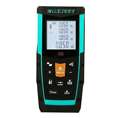 Mileseey X6 100M Laser Distance Meter Module Side Two Measuring Button