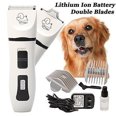 Pet Grooming Clippers Rechargeable Pet Grooming Kit for Dogs and Cats
