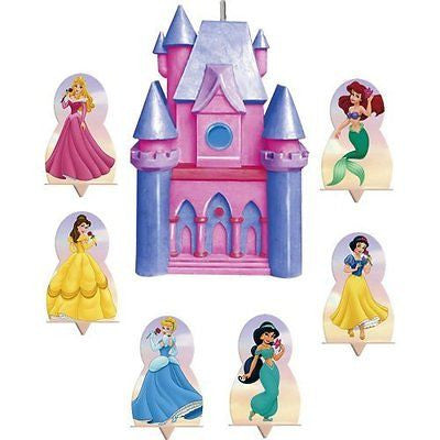 Disney Princess Candle and Cake Topper Set 7