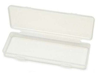 Creative Hobbies? Clear Polypropylene Mini Storage Box with Hinged Lid