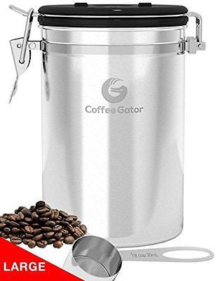 Coffee Canister - Keeps Coffee Fresher for Longer