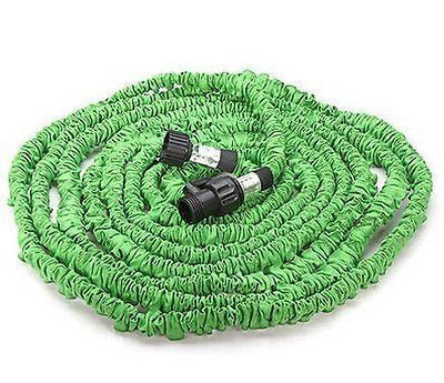 KLAREN Expandable Garden Water Hose Expands to 75 Ft (green)