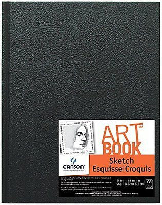 "Artist Series Sketch Book, 8.5""X11"" Hard Bound"