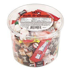 Soft & Chewy Mix Assorted Soft Candy 2lb Plastic Tub