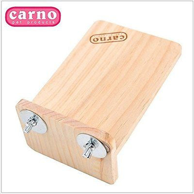 Wooden Hamster Chinchilla Platform Springboard Wooden Animal Platform For Cage