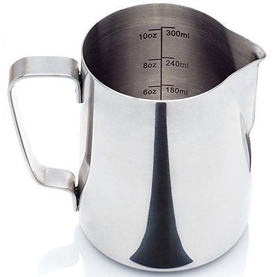 Stainless Steel Frothing Pitcher for Espresso Machines Milk Frothers