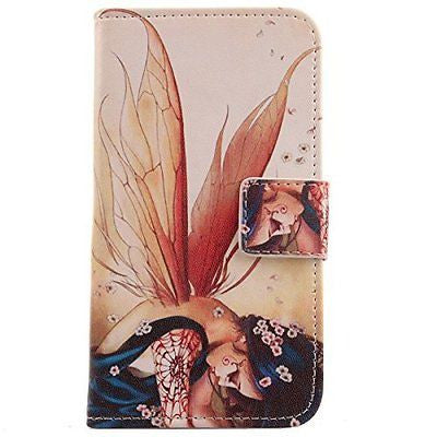 Lankashi Pattern Wallet Design Flip PU Leather Cover Skin Protection Case