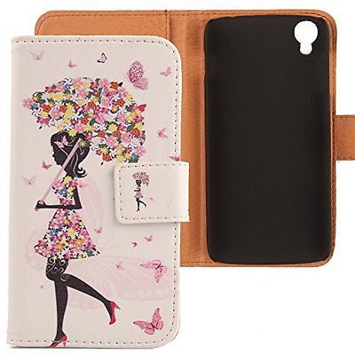 Lankashi Pattern Design Leather Cover Skin Protection Case for Alcatel One Touch