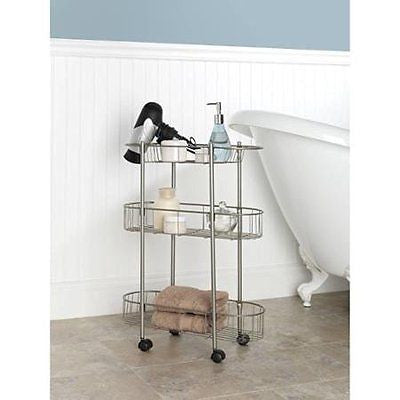 Chapter Rolling Bathroom Cart