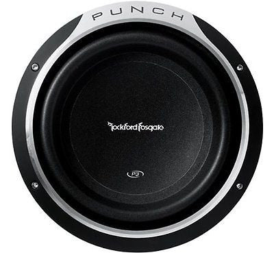 Rockford Fosgate Punch P3 P3SD210 Punch P3 10-Inch 300 Watt Shallow Subwoofer