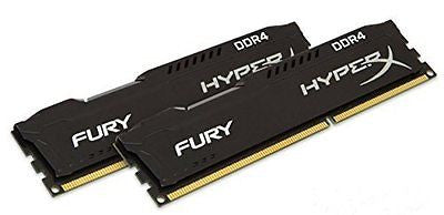 Kingston HyperX FURY Black 16GB Kit (2x8GB) 2133MHz DDR4 Non-ECC CL14 DIMM