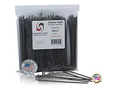 Palmetto Golf 100 Ct 6 inch 11 Gauge Heavy Duty Professional