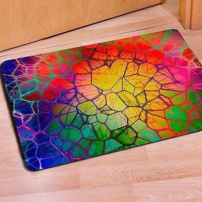FOR U DESIGNS New Fashion Bathmat Home Decoration Beautiful Front Door Mat Rugs