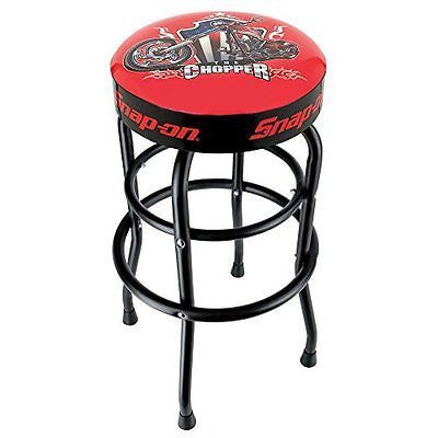 Snap-On 870459 Chopper Shop Stool with Black Legs