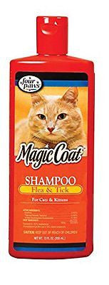 Four Paws Magic Coat Flea and Tick Cat Grooming Shampoo