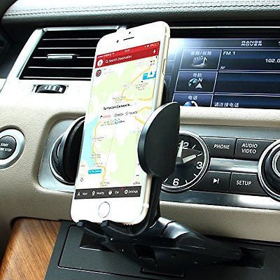 Car Mount, Patekfly Universal 360 Cellphone Car Mount Cradle Holder for Iphone 6