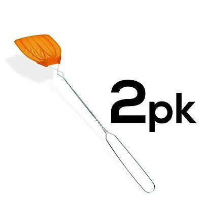 2PK - Metal Handle Hand Fly Swatters