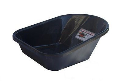 Wheelbarrow Liner for 6 Cubic Feet Wheelbarrows Black Recycled Poly
