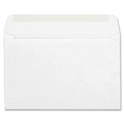 "Columbian CO298 Greeting Card Envelopes, 5-3/4"" x 8-3/4"" A9 White (Box of 100)"