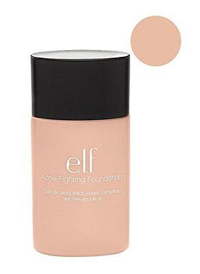e.l.f. Acne Fighting Foundation Porcelain 1 Ounce