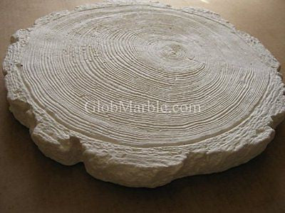 Globmarble Concrete Mold Stone, Stepping Stone Paver. Rubber Mold Log 5901/1
