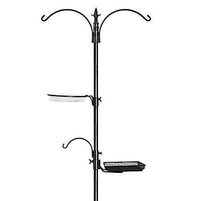 "GrayBunny GB-6844 Premium Bird Feeding Station Kit, 22"" Wide x 91"" Tall, A Multi"