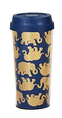 Tusk in Sun Navy Thermal Mug Navy/Gold