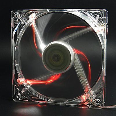 Autolizer Sleeve Bearing 120mm Silent Cooling Fan for Computer PC Cases