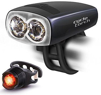 Cycle Torch Night Owl Bike Light USB Rechargeable - TAIL LIGHT Included