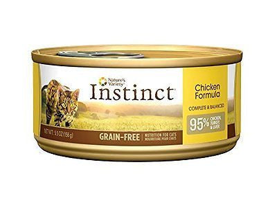 Nature's Variety Instinct Grain-Free Canned Cat Food