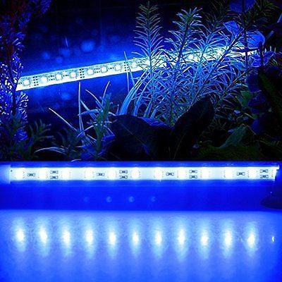 5050 SMD 6 LED Aquarium Lighting Underwater Submersible Light Bar for Fish Tank