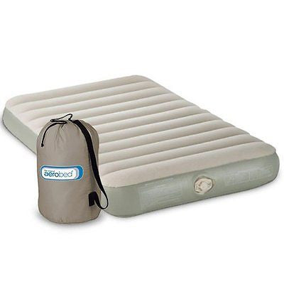 NEW! Coleman Aerobed Single High Twin PVC Quickbed Airbed Mattress w/ 120V Pump