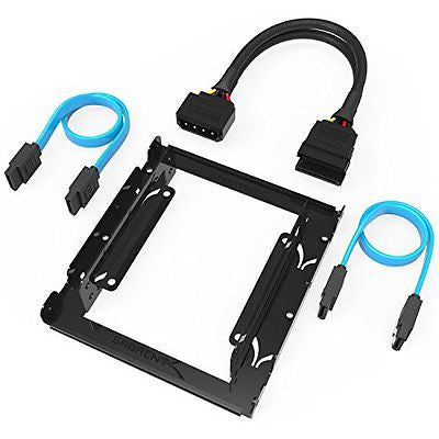 Sabrent 3.5-Inch to x2 SSD / 2.5-Inch Internal Hard Drive Mounting Kit