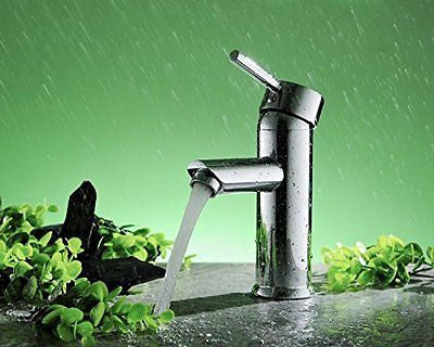 Greenspring Single Handle Bathroom Sink Faucet Stainless Steel Basin Mixer Taps