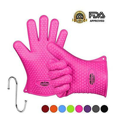 Molecule Gloves High Quality Kitchen Gloves-Heat Resistant Grilling BBQ-New Pro
