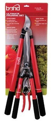 Bond 5945 Ultimate Pruning 3 Piece Combo Set With Lopper, Hedge Shears